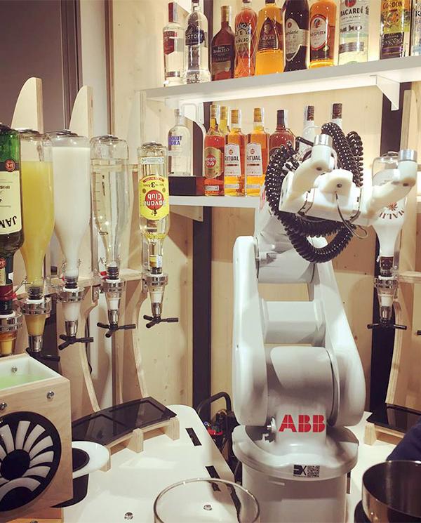 Robot Coctelero en Pernod Ricard